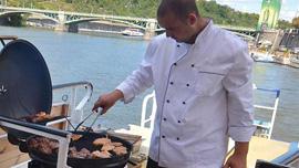 Barbecue on the Vltava River