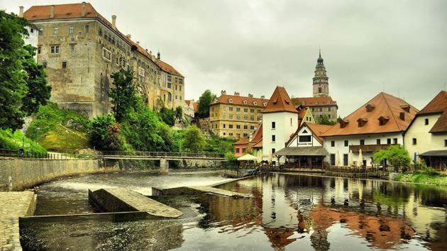 Český Krumlov a UNESCO