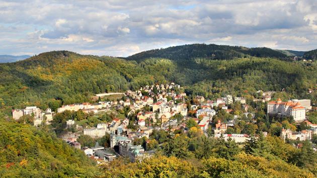 Karlsbad und Glashütte Moser