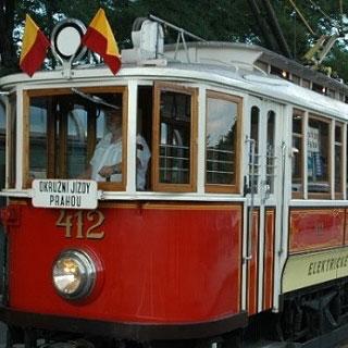 Jízda historickou tramvají