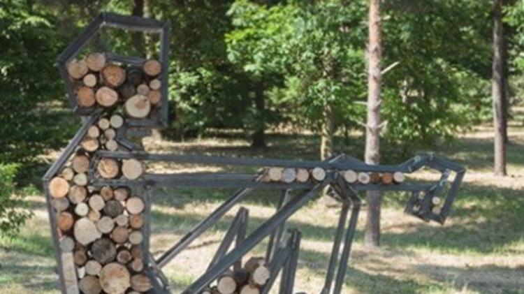 Sochařský festival - Sculpture line