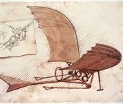 Výstava Aeronautica - vynálezy Leonarda da Vinciho