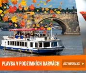 Podzimní plavby v Praze