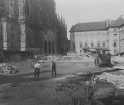 Výstava o obnově Pražského hraduí