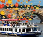 Plavby Prahou v podzimních barvách 2014